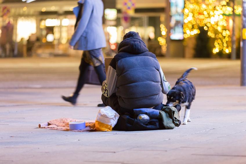 Obdachlosigkeit – helfen und Konflikte schlichten, nur wie?